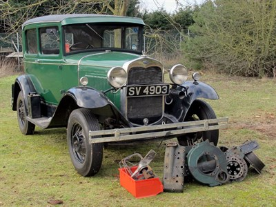 Lot 30 - 1930 Ford Model A Tudor Sedan