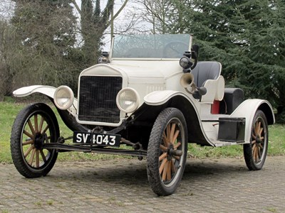 Lot 31 - 1917 Ford Model T 'Speedster' Special