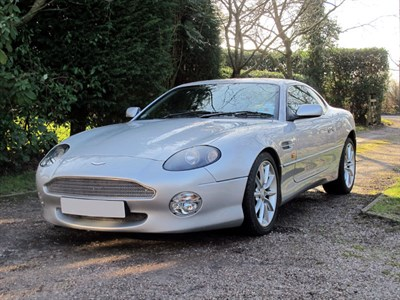 Lot 56 - 2000 Aston Martin DB7 Vantage