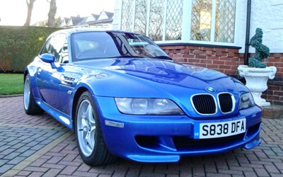 Lot 59 - 1998 BMW M Coupe