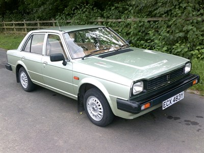 Lot 61 - 1983 Triumph Acclaim L