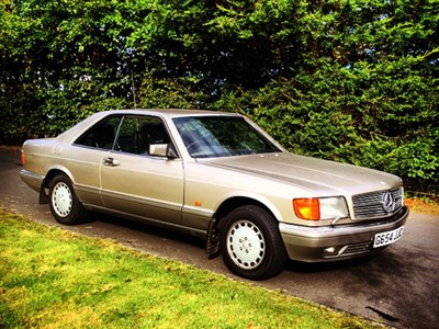 Lot 4 - 1989 Mercedes-Benz 500 SEC