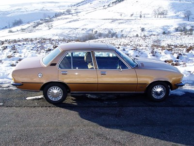 Lot 19-1977 Opel Rekord Berlina