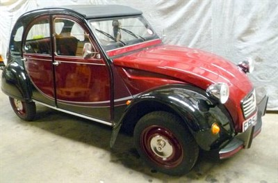 Lot 26 - 1988 Citroen 2CV6 Charleston
