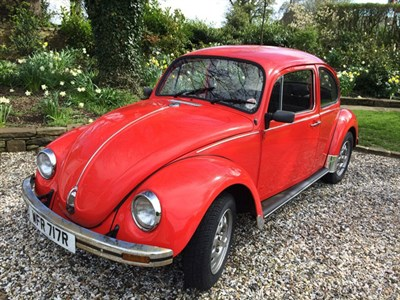 Lot 79 - 1977 Volkswagen Beetle 1200