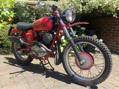 Lot 120 - 1958 Moto Guzzi Lodola 250