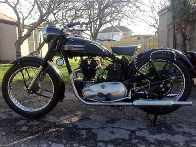 Lot 16-1950 Triumph 3T