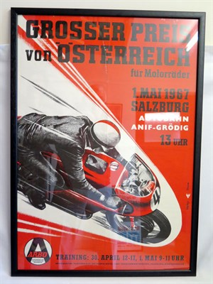 Lot 2 - 1967 Austrian Grand Prix Poster