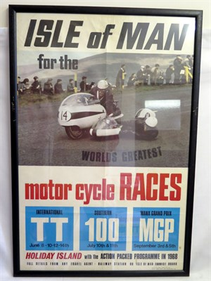 Lot 3 - 1968 & 1969 Isle of Man Posters