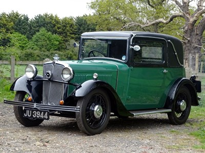 Lot 21-1934 Morris 10/4 Special Coupe