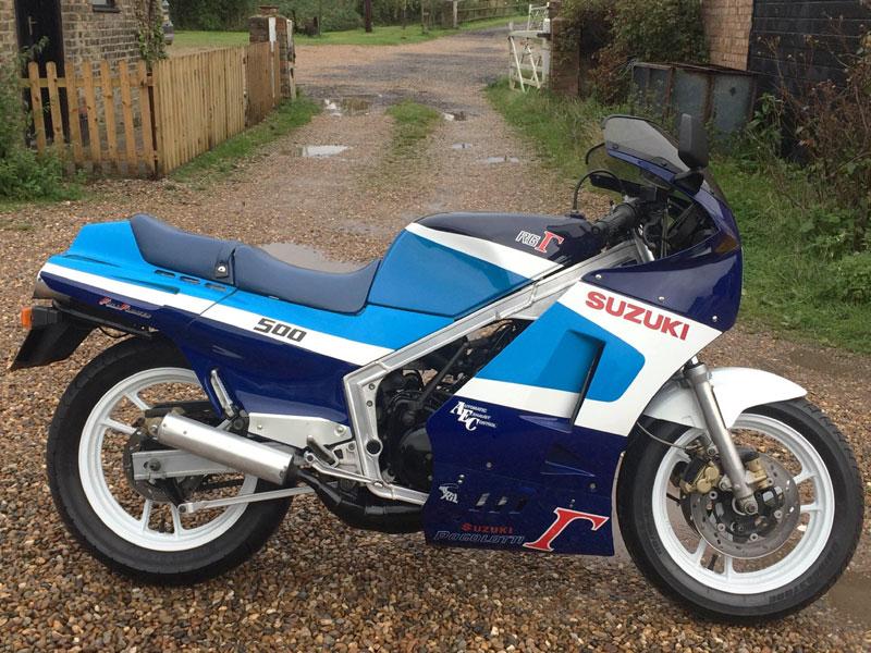 Lot 46-1986 Suzuki RG500 Gamma