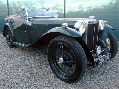Lot 37-1946 MG TC
