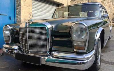 Lot 118-1970 Mercedes-Benz 600 Saloon