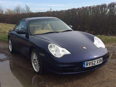 Lot 28 - 2002 Porsche 911 Carrera 4