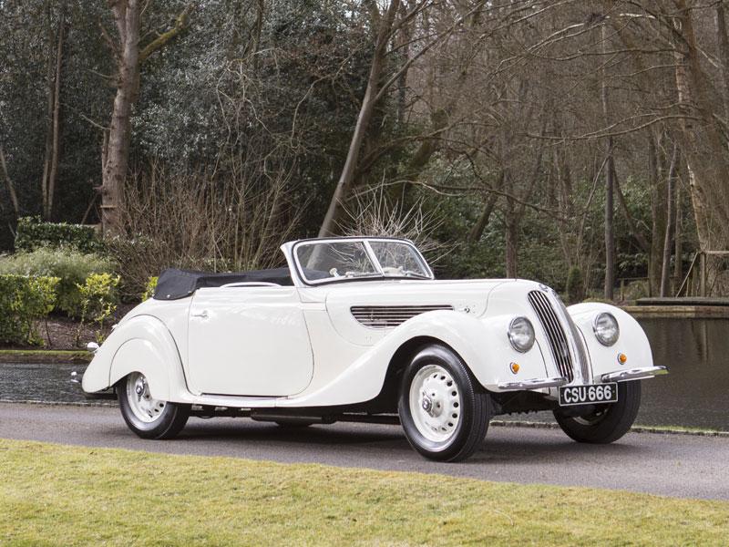 Lot 56-1939 BMW 327/80 Cabriolet