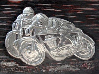 Lot 30 - Norton Manx Artwork