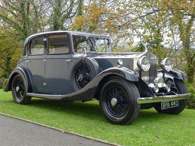 Lot 29-1933 Rolls-Royce 20/25 Sports Saloon