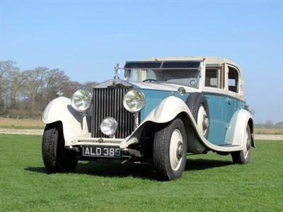 Lot 16-1933 Rolls-Royce Phantom II Sedanca de Ville