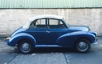 Lot 21-1968 Morris Minor 1000 Convertible