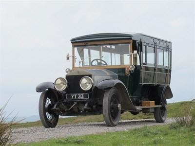 Lot 23-1924 Rolls-Royce Silver Ghost Shooting Brake
