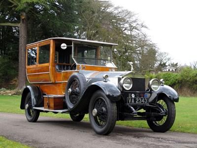 Lot 9-1923 Rolls-Royce Silver Ghost Shooting Brake