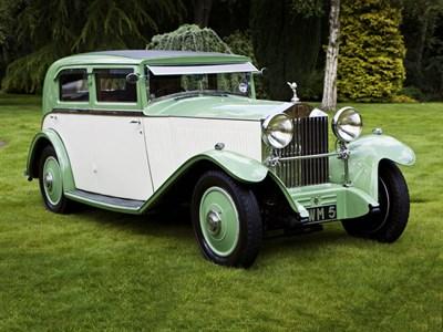 Lot 18-1931 Rolls-Royce 20/25 Sports Saloon