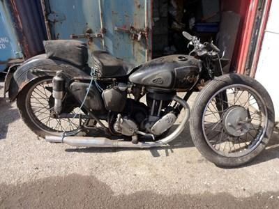 Lot 28-1952 AJS Model 18