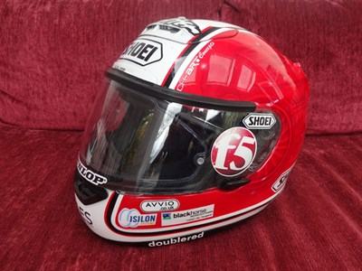 Lot 18-Michael Rutter 2007 TT Signed Race Helmet