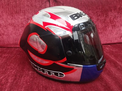 Lot 19-Jeremy McWilliams Race Helmet