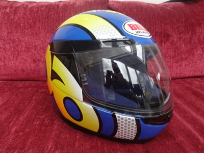 Lot 20-Jamie Whitham Replica Helmet