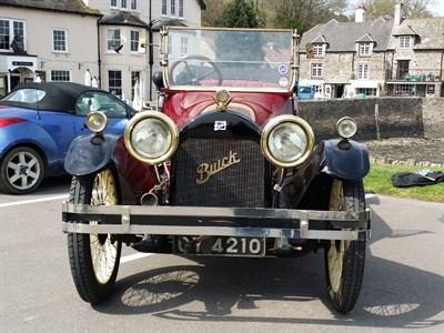 Lot 12-1919 Buick Model HX-45 Touring