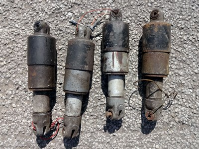 Lot 6-AJS Matchless Jampot Suspension Dampers