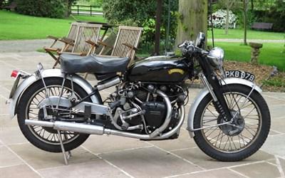 Lot 72-1953 Vincent Black Shadow Series C