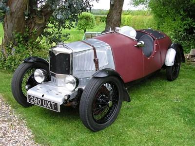 Lot 13-1931 Riley Nine Special