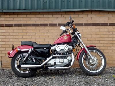 Lot 80-1995 Harley Davidson Sportster XL883H Hugger