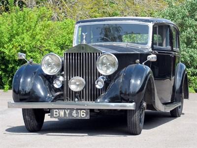 Lot 25-1937 Rolls-Royce 25/30 Limousine