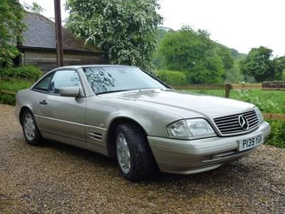 Lot 46-1997 Mercedes-Benz SL 320