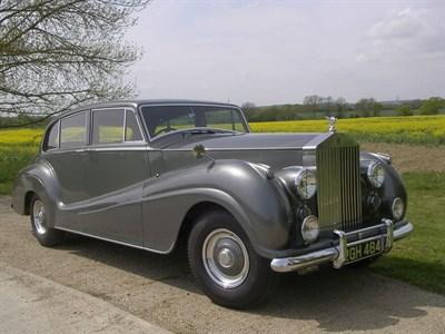 Lot 28-1955 Rolls-Royce Silver Wraith Six Light Touring Saloon