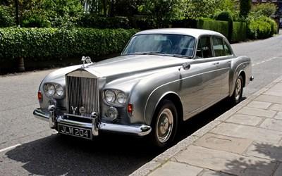 Lot 27-1964 Rolls-Royce Silver Cloud III 'Flying Spur' Sports Saloon