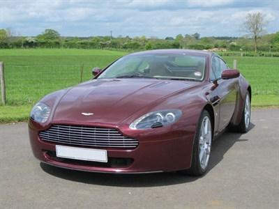 Lot 5-2007 Aston Martin V8 Vantage