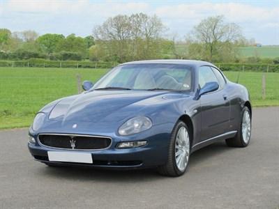 Lot 16-2002 Maserati 4200 GT Coupe Cambiocorsa