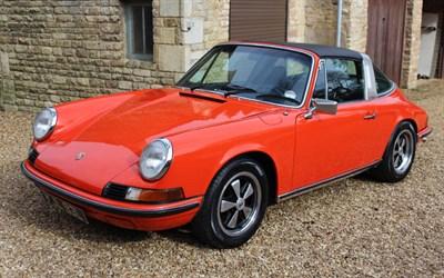 Lot 38-1973 Porsche 911 T