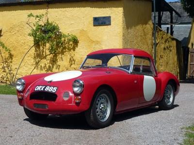 Lot 55-1957 MG A Twincam Roadster Prototype