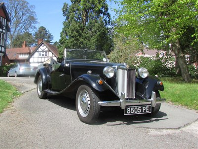Lot 17-1953 MG TD