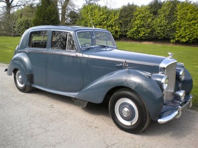 Lot 4-1950 Bentley MK VI Saloon