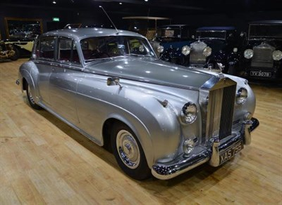 Lot 21-1958 Rolls-Royce Silver Cloud LWB