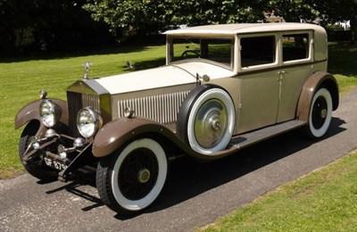 Lot 29-1930 Rolls-Royce Phantom II 'Short Chassis' Four Light Saloon