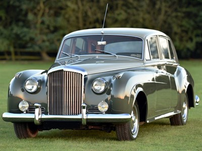 Lot 11-1962 Bentley S2 Saloon