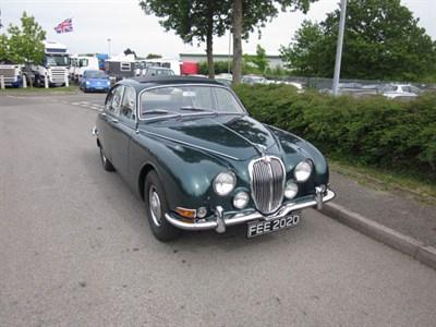 Lot 2-1966 Jaguar S-Type 3.8 Litre