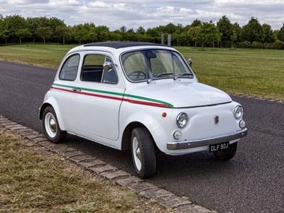 Lot 14-1970 Fiat 500 L